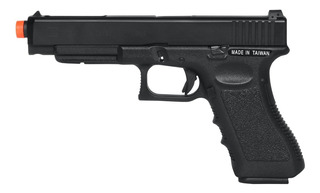 Pistola De Airsoft À Gás Gbb Green Gás G34 Blowback 6mm - Ks