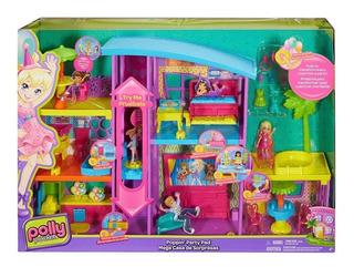 Mega Casa De Sorpresas Polly Pocket, Mattel Bestoys