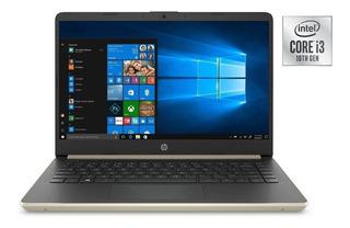 Notebook Hp Intel Core I3 10ma Gen 4gb 128gb Ssd Win10 14