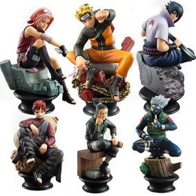 Naruto 6 Pcs Figura Decoração Brinquedo Decorativo Presente