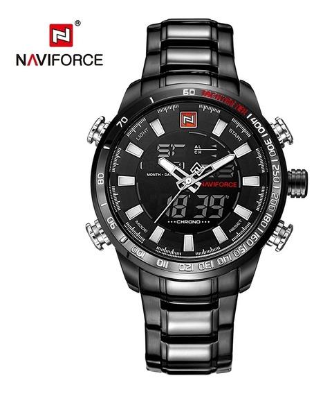 Relogio Masculino Naviforce 9093 Em Até 12× S/juros