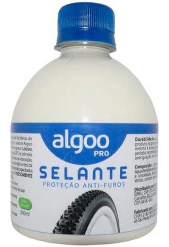 Selante Algoo 300 Ml Liquido Anti Furo P/ Pneu Tubeless Bike