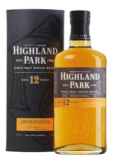 Whisky Highland Park 12 Años C/estuche Zona Colegiales