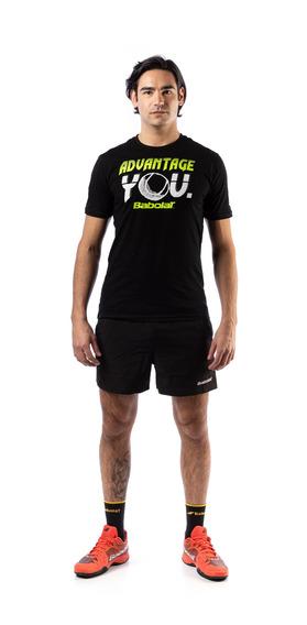 Remera Babolat T Shirt Advantage Hombre