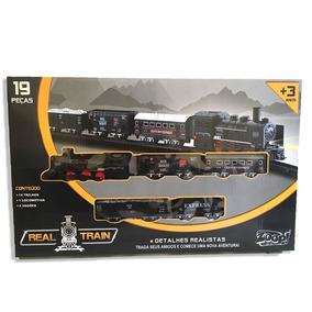 Brinquedo Trem Ferrorama Century Express Detalhes Realistas