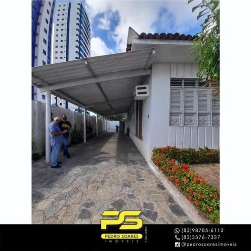 Casa Para Alugar, 450 M² Por R$ 6.000,00/mês - Tambauzinho - João Pessoa/pb - Ca0890