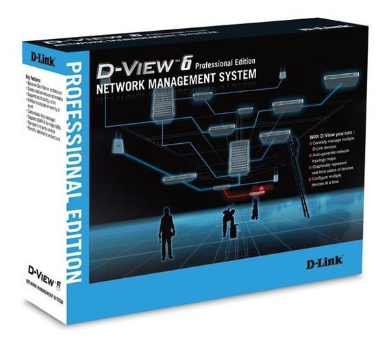 Software De Gerência De Rede - D-link D-view 6 (dv-600p)