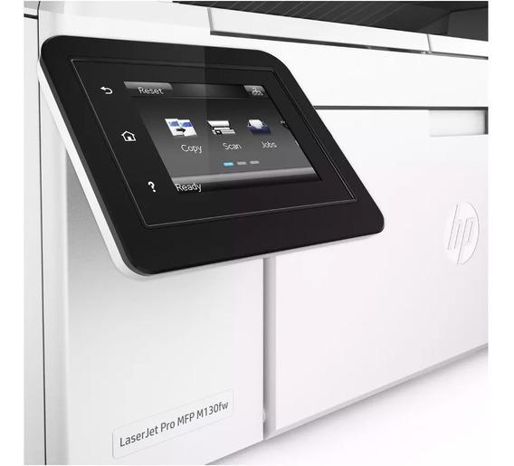 Impressora Hp Multifuncional M 130fw C/ Wifi Com Garantia
