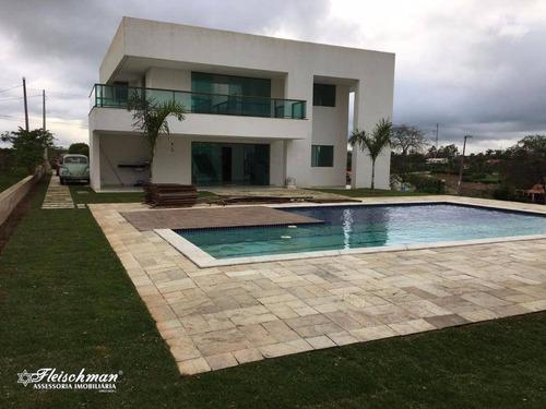 Imagem 1 de 30 de Casa Com 4 Dormitórios À Venda, 293 M² Por R$ 1.300.000,00 - Gravatá Centro - Gravatá/pe - Ca0061