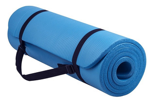 Mat 10 Mm Yoga Pilates + Correas Calidad Oferta