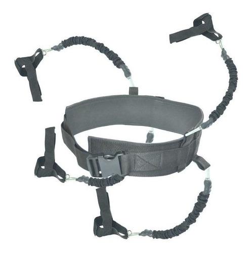 Cinturon Con Bandas Entrenamiento Sparring Sombra Deportes