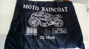 Capa De Chuva Motoqueiro Conjunto Nylon Motociclista Tam P