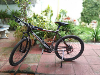 Mountain Bike R26 Topmega Freno A Disco Suspension 24v Alum