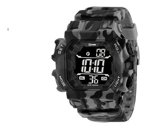 Relógio X Games Masculino Digital Camuflado Xgppd140 Pxgx