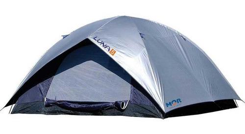 Imagem 1 de 1 de Barraca Barato Acampamento Camping Lazer Mor Luna 5 Pessoas