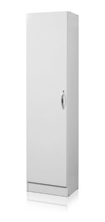 Organizador Multiuso 1 Puerta 45 X 30 X 180 Cm Arco Blanco