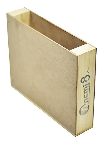 Imagen 1 de 9 de Caja De Madera Para Enrollador N°8