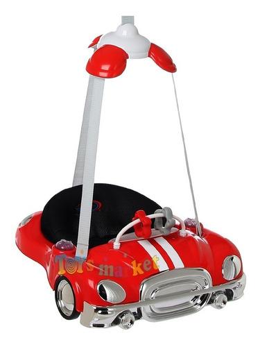 Jumper Auto Saltarin Felcraft Luz Y Sonido Hamaca Para Bebe