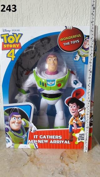 Boneco Toy Story Buzz Astronalta 39cm Articulado Luz E Som