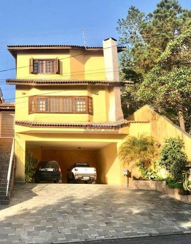 Casa Com 3 Dormitórios À Venda, 282 M² Por R$ 1.900.000,00 - Condomínio Arujazinho Iv - Arujá/sp - Ca1814