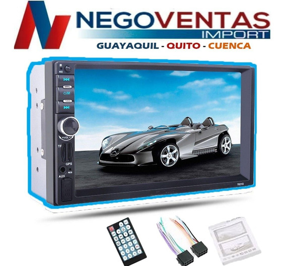 Radio Para Carro Doble Din Mp5 Full Hd + Mando Al Volante