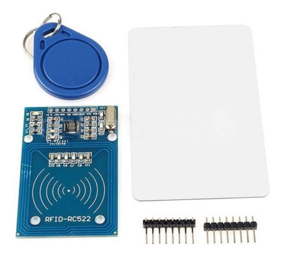 Modulo Rfid Rc522 13.56 Con Llavero Tarjeta Tag Arduino Sgk