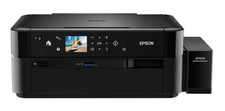 Impresora a color fotográfica Epson EcoTank L850 220V negra