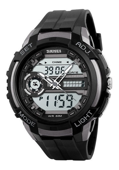Reloj Tipo Militar Sport Navy Seal 4 Colores Skmei 1202 5atm