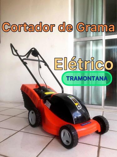 Imagem 1 de 5 de Cortador De Grama Elétrico