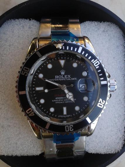 Relógio Masculino Pronta Entrega Preto Silver