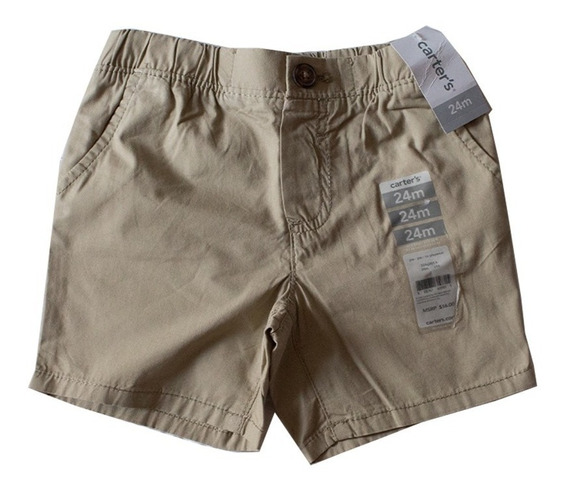 Short Niño Carters Color Beig Talla 24m