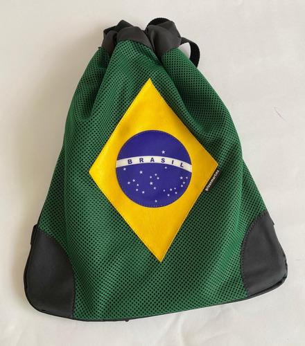 Mochila Saco Brasil Gilson Martins