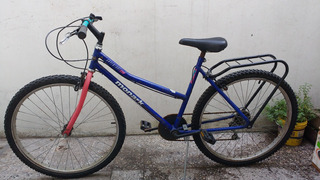 Bicicleta Mountain Bike Monark Rodado 26 Cambios Shimano Sis