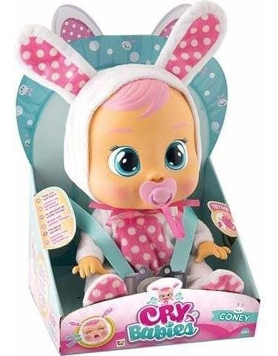 Boneca Cry Babies Coney Br528 Multikids