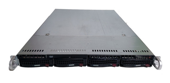 Servidor Supermicro 1u X8dtl-3 Xeon E5606 16gb Hdd500gb