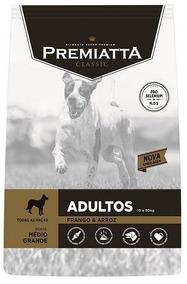 Ração Premiatta Classic Tradicional 15 Kl, Cães Grandes