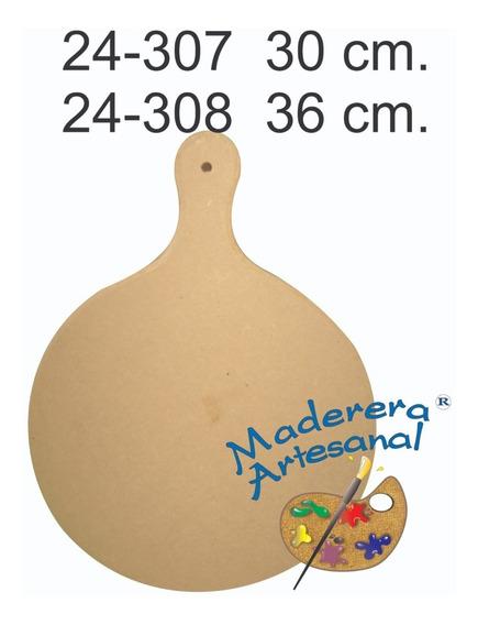 Tabla Pizzera De Fibrofacil En 36 Cm Picadas Entradas Cocina