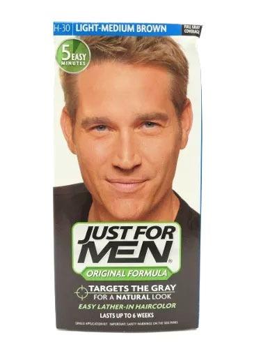 Tinta Just For Men Light Medium Brown H-30
