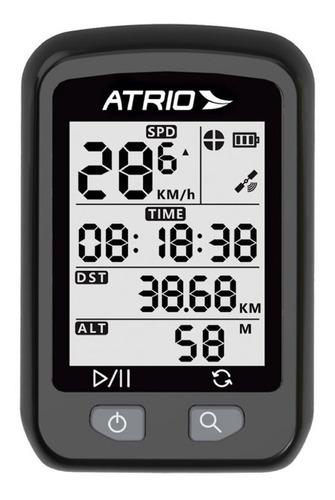 Imagem 1 de 7 de Gps Ciclismo Atrio Iron Velocimetro Bike Compátivel Strava