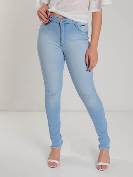 Calça Jeans Max Denim Cós Alto