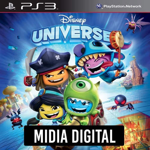 Ps3 Psn* - Disney Universe Infantil