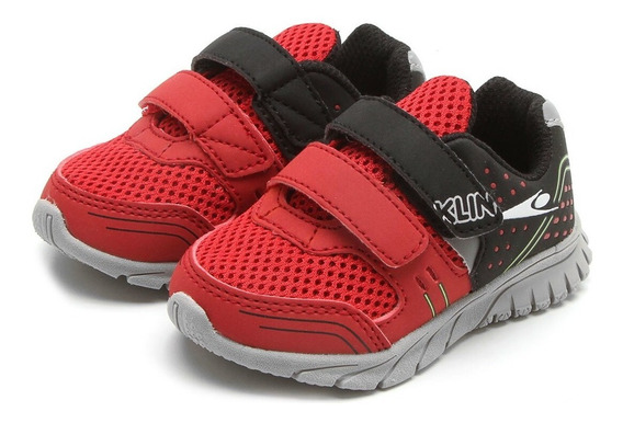 Tênis Freedom Klin Infantil Velcro Confortável