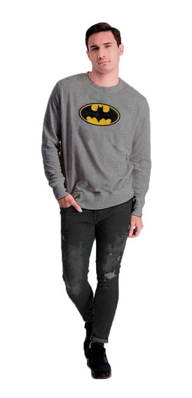 Sudadera Hombre Batman Logo Pullover Licencia Dc