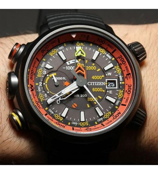 Reloj Citizen De Hombre Bn5035 02 F Altichron Titanio