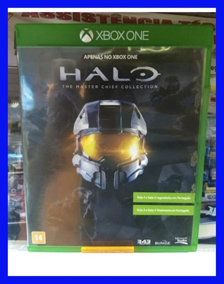 Halo Master Chief Collection Xbox One Midia Fisica Semi Novo