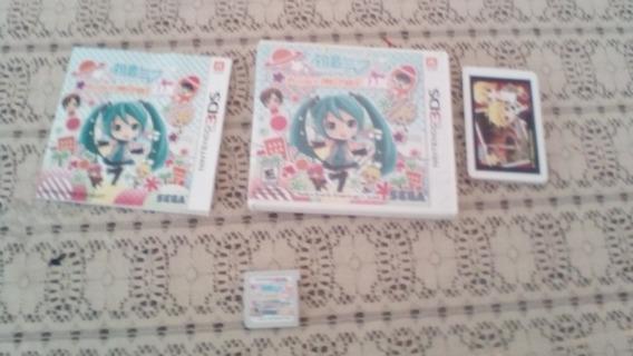 Hatsune Miku Project Mirai Dx Nintendo 3ds Ar Cards