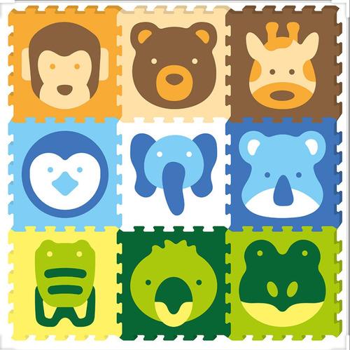 Tapete Infantil Puzzle Mat Animal