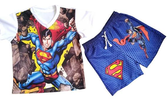 Conjunto Deportivo Liga De La Justicia - Superman