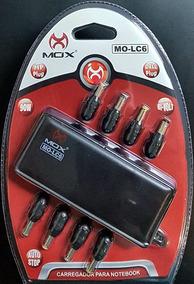 Mox Carregador Universal Para Notebook Com 10 Pinos Preto