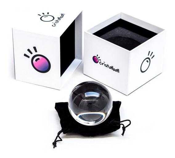Bola De Cristal Lente Cristalball Original 80mm Lensball +nf